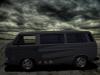 Zwarte Hotrod T3