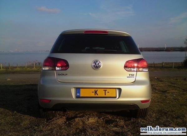 VW Golf VI Highline Silver Leaf