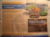 V.A.G Meeting Burgum - krantenartikel