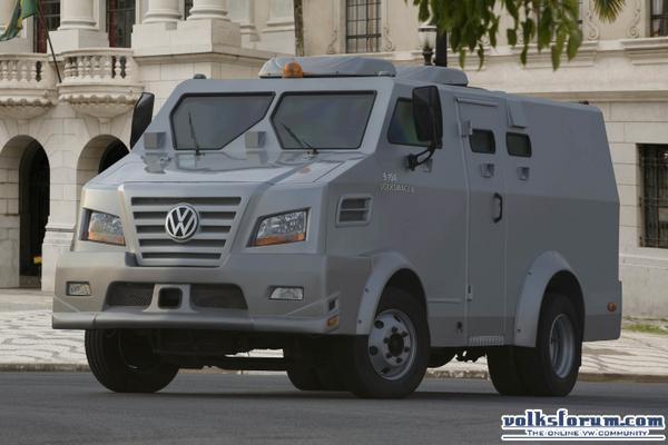 Volksforum.com - VW Truck & Bus: Releases ECE 9.150 Armored Truck